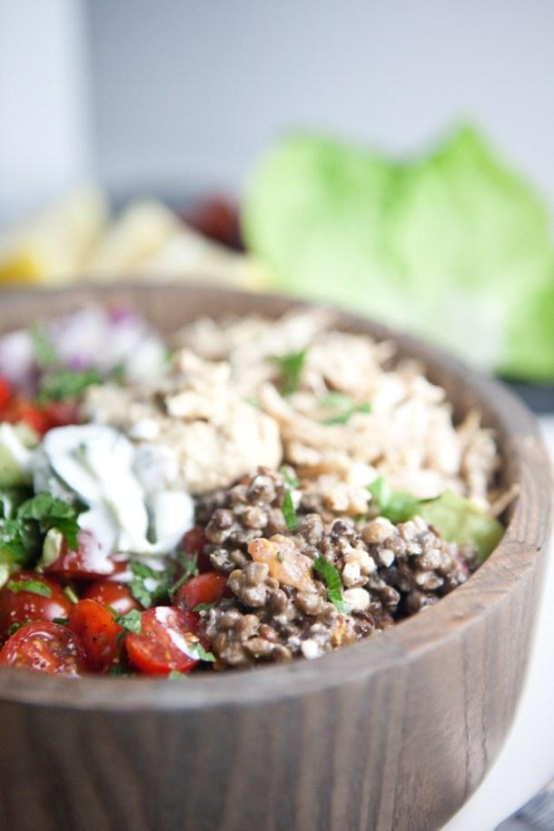 Mediterranean Power Salad www.lillieeatsandtells.com