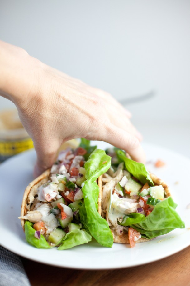 chicken greek pitas www.lillieeatsandtells.com