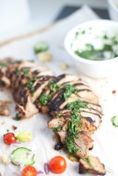 Brown Sugar Garlic crusted Pork Tenderloin #macrofriendly #healthy #light #skinny www.lillieeatsandtells.com
