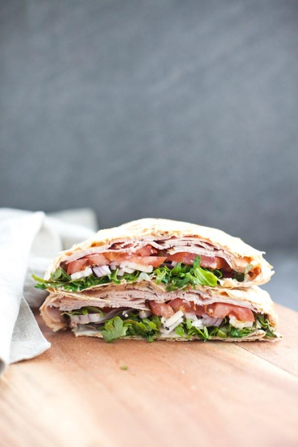 The Turkey Pepperjack Low Carb Crunch Wrap www.lillieeatsandtells.com #macrofriendly #macrofriendlyrecipes #weightwatchers #cutdacarb #lowcarb