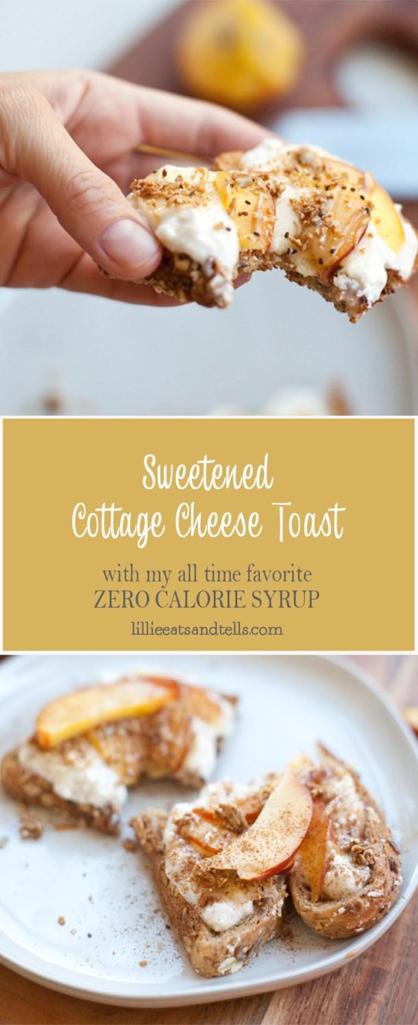 Cottage Cheese Parfait Toast www.lillieeatsandtells.com #macrofriendly #macrofriendlyrecipes #healthybreakfast #cookinglight