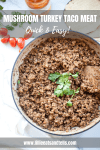 Try this taco meat recipe on a week night. www.lillieeatsandtells.com