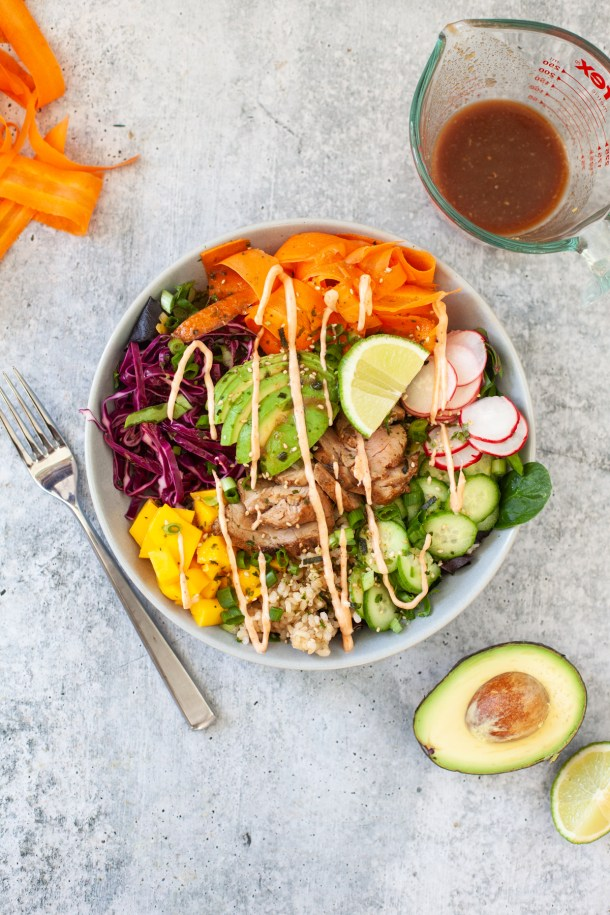 This is a great meal to use leftover for other bowls. www.lillieeatsandtells.com