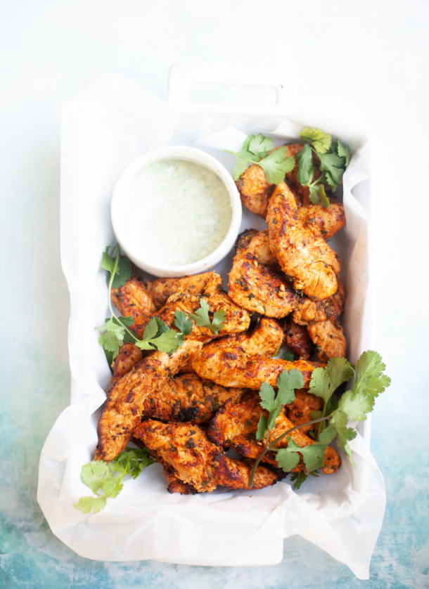 You need this cilantro lime chicken in your life. www.lillieeatsandtells.com