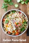 www.lillieeatsandtells.com recipe for italian pasta salad
