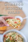 www.lillieeatsandtells.com recipe for romesco chicken salad