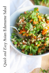 www.lillieeatsandtells.com recipe for Asian edamame salad