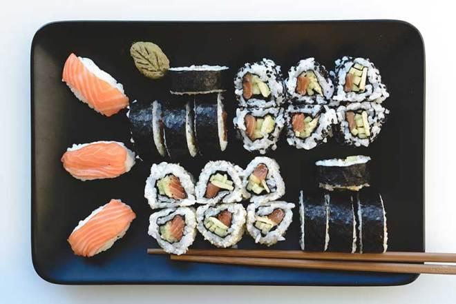 Wie mache ich Sushi