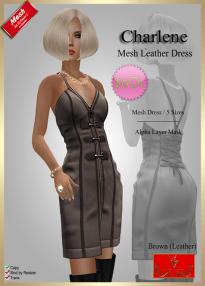 [LD 60] Charlene - Sepia (Leather) XS