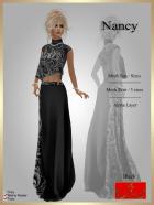 [LD] Nancy - Top & Skirt - Black xs