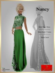 [LD] Nancy - Top & Skirt - Green xs