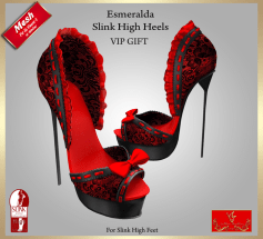 [LD] Esmeralda Slink High Heels - VIP Gift xs