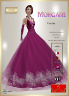 [LD] Morgane (Updated) - Fuschia xs