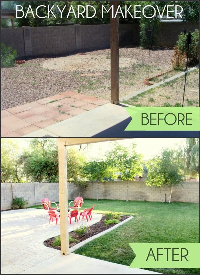 Backyard Makeover on Small Backyard Renovation Ideas id=50228