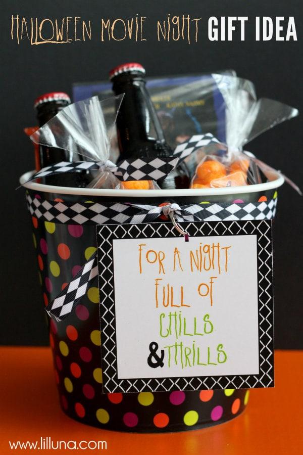 Halloween Movie Night Gift Idea