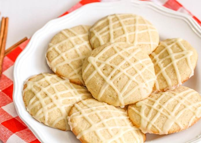 Soft Frosted Eggnog Cookies - Life Made Sweeter