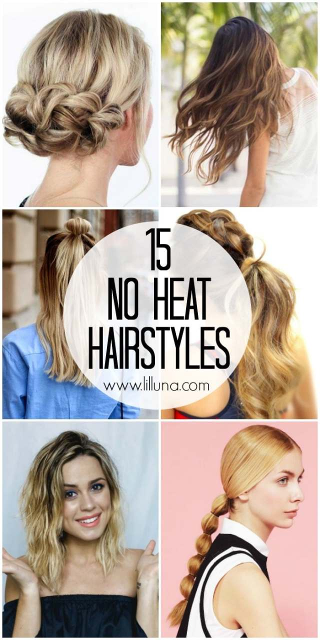 15 no heat hairstyles - lil' luna