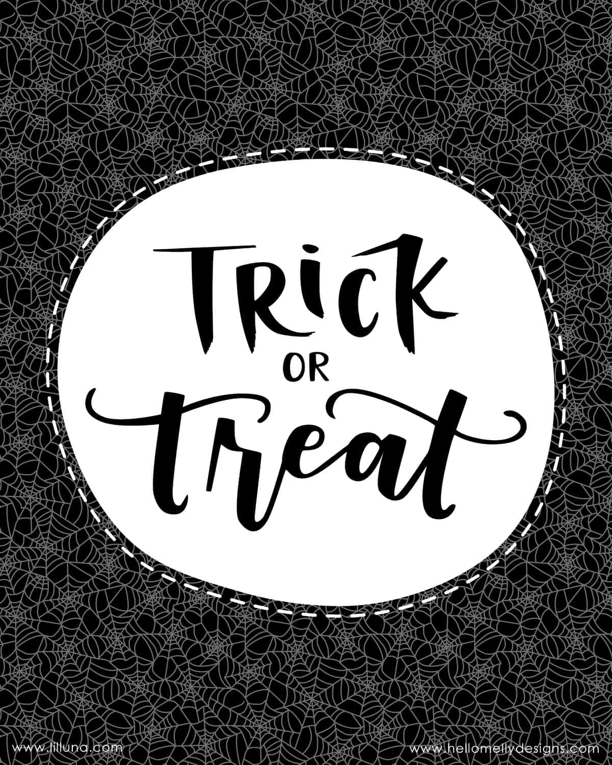 Trick Or Treat Printables