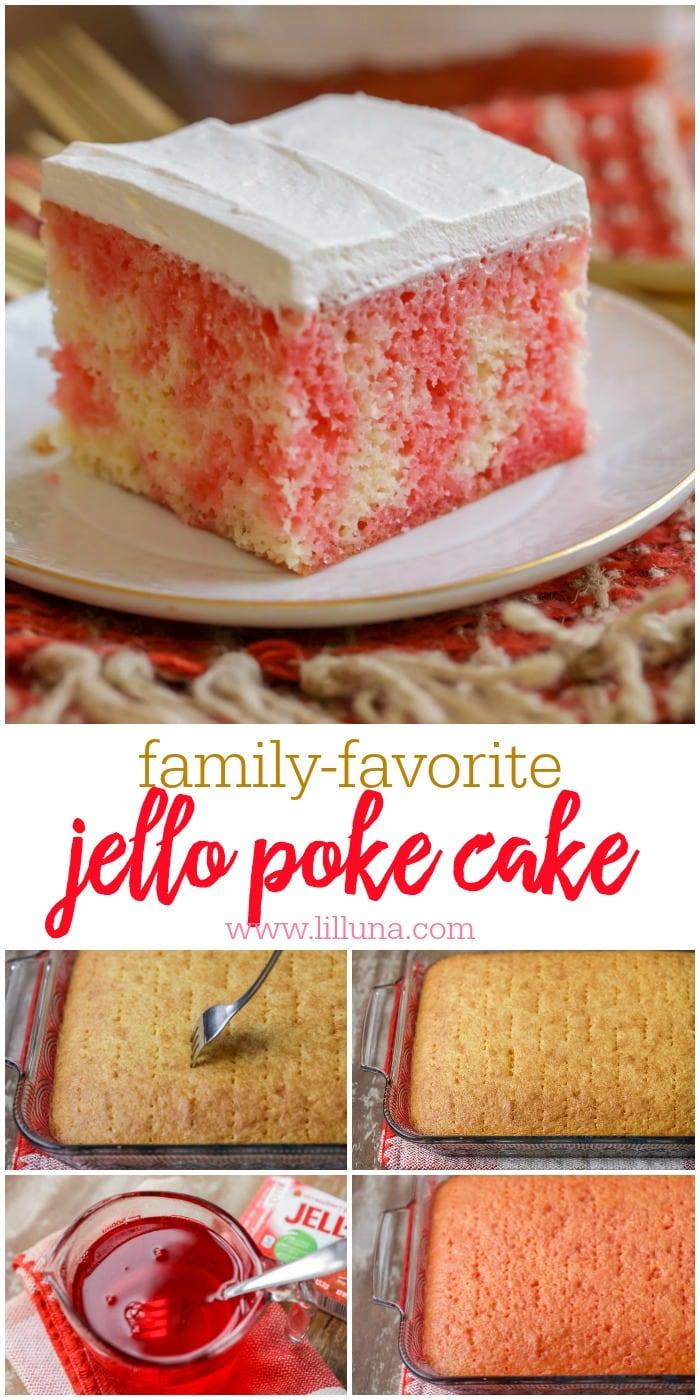 Jello Whipped Cream Cake