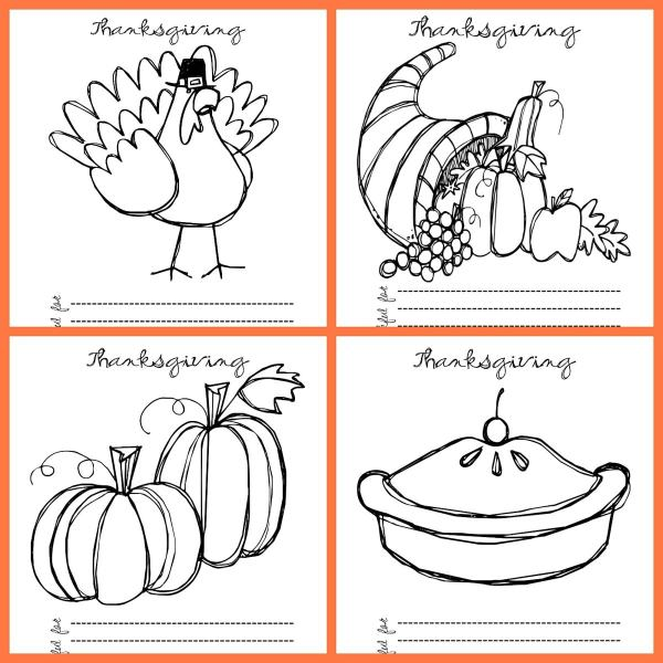 thanksgiving coloring pages # 60
