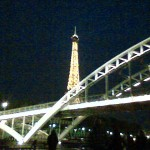 Eifel Tower from Seine River