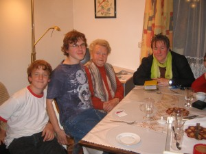 Andi, Christoph, Oma, Lilly