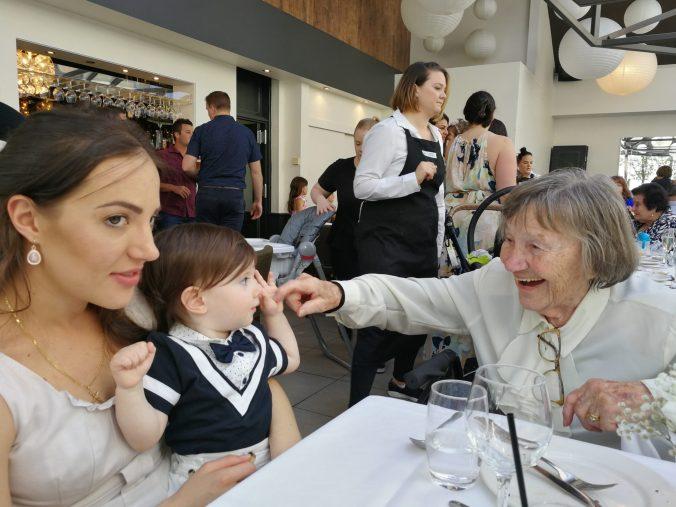 Mum, granddaugter and great grandson
