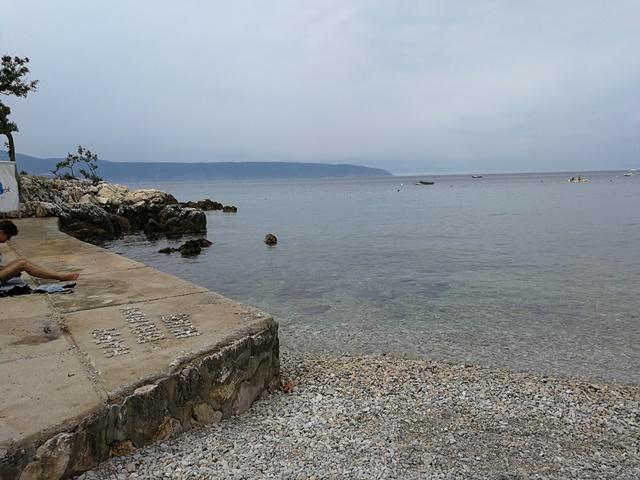 Glavotok Beach and camp