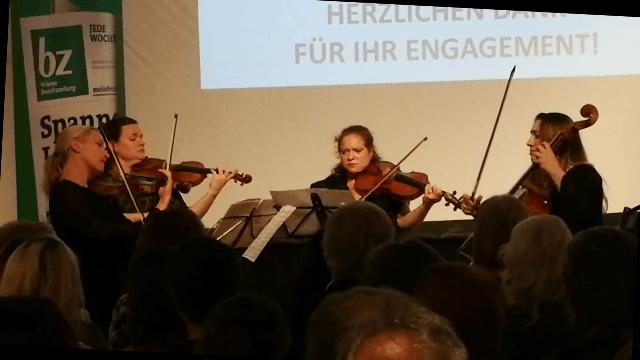 Quartett des Frauenkammerorchesters