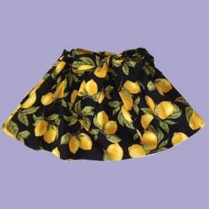 When Life Gives You Lemons Skirt - Back