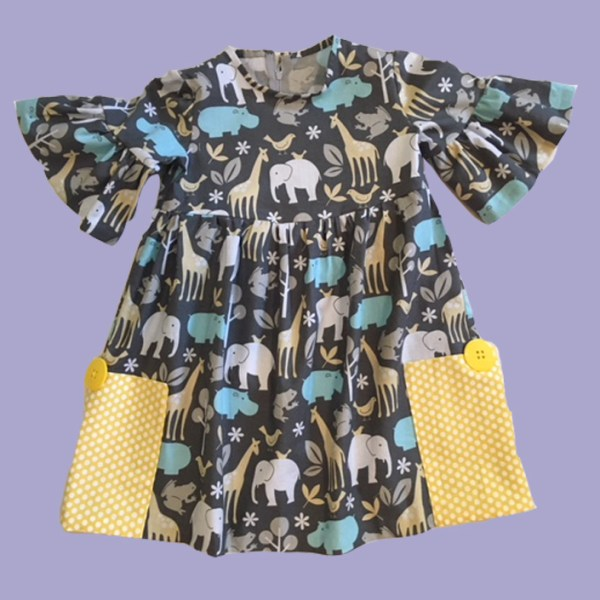Sunshine in the Pockets Dress - Front