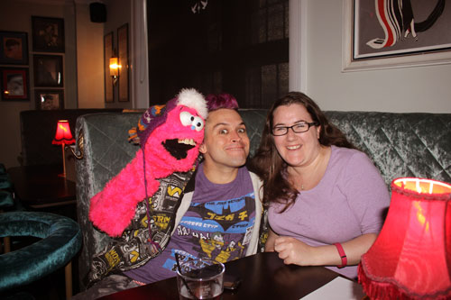 Meeting-Peter-Comedy-capper-at-the-Nightingale-room