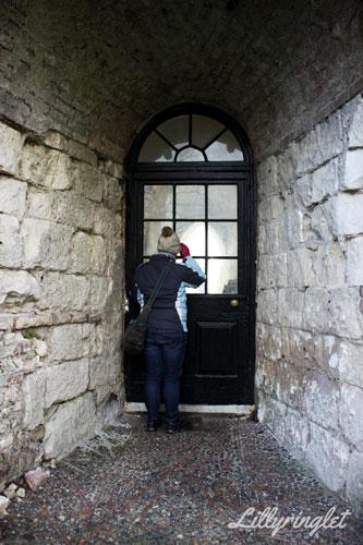 looking inside Lewes Castle