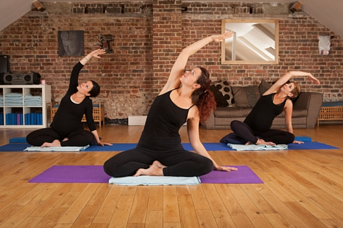 Pregnancy Yoga with lushtums - week 15 - the bump diaries