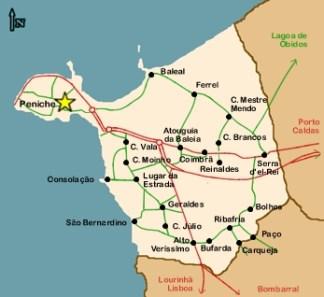 mappa puniche portogallo