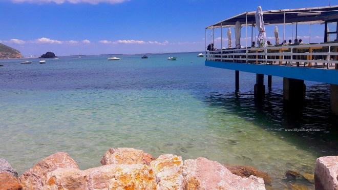 spiaggia navetta portinho de arrabida