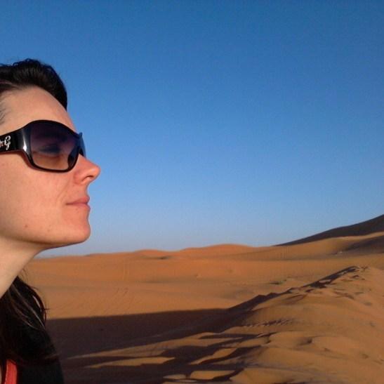 Tra le dune di Merzouga