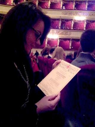 Al Teatro della Scala