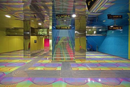 inaugurazione nuova stazione metropolitana piazza bovio