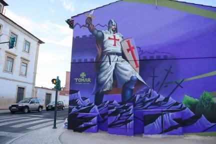 street art tomar portogallo