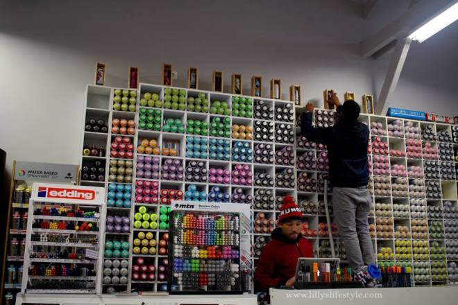 negozio arte urbana lisbona