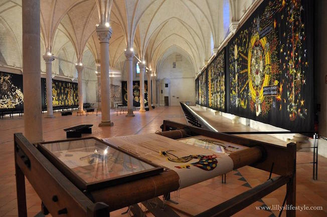 museo tappeti angers francia
