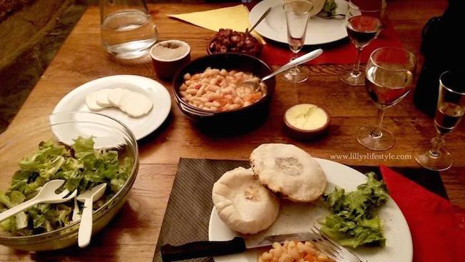 Le Caveau ristorante troglodita valle della loira francia