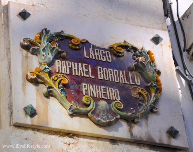 Rafael Bordalo Pinheiro lisbona