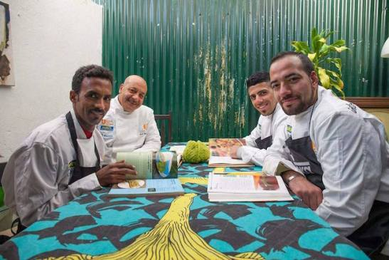 progetto rifugiati make food not war