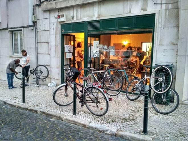 biciclette a lisbona