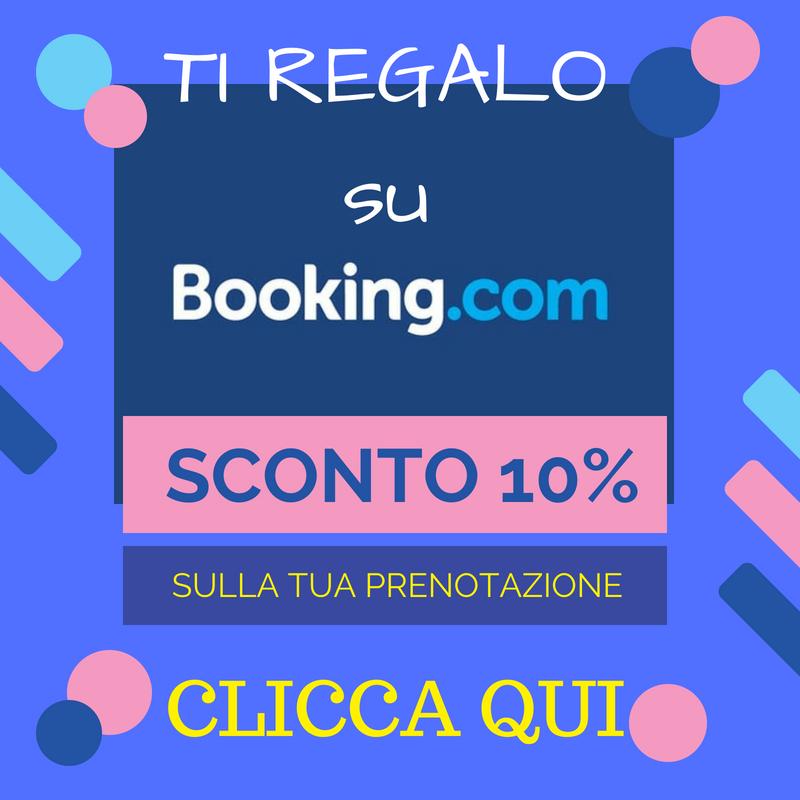 sconto prenotazione booking
