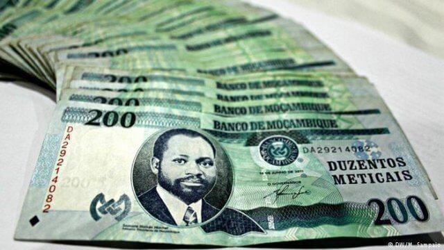 denaro mozambico metical