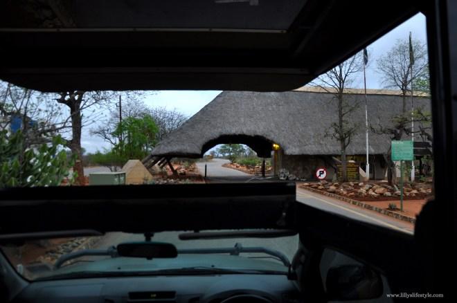 porta accesso parco kruger