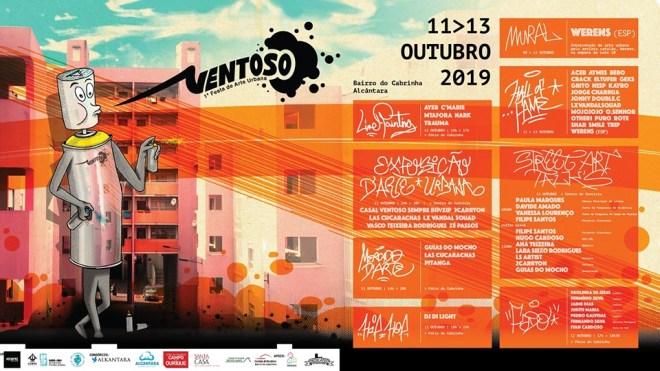 lisbona festival street art